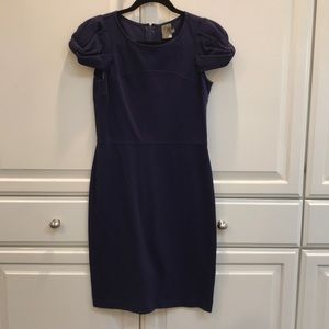 TAYLOR -  Dress, Deep Purple, long Sheath